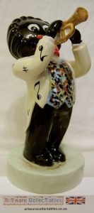 Artware Collectables Large Golly Musician - The Trumpet Player - SOLD